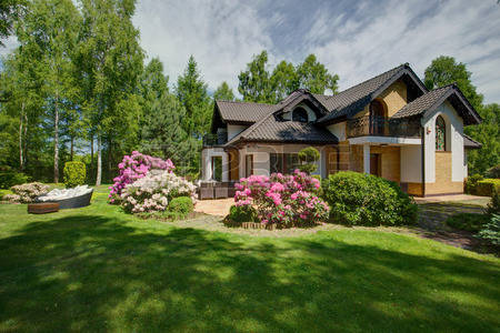 42198973-exterior-of-detached-house-with-beauty-garden